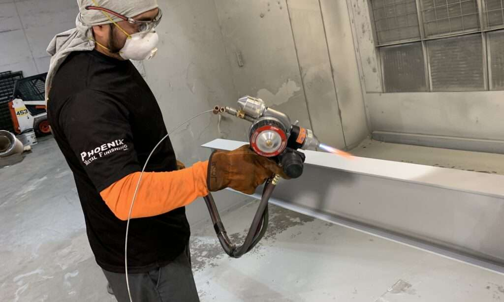 Metalizing Thermal Spray