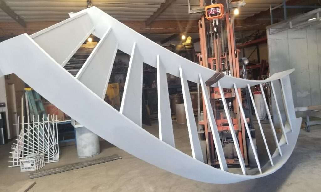 Metalized Staircase