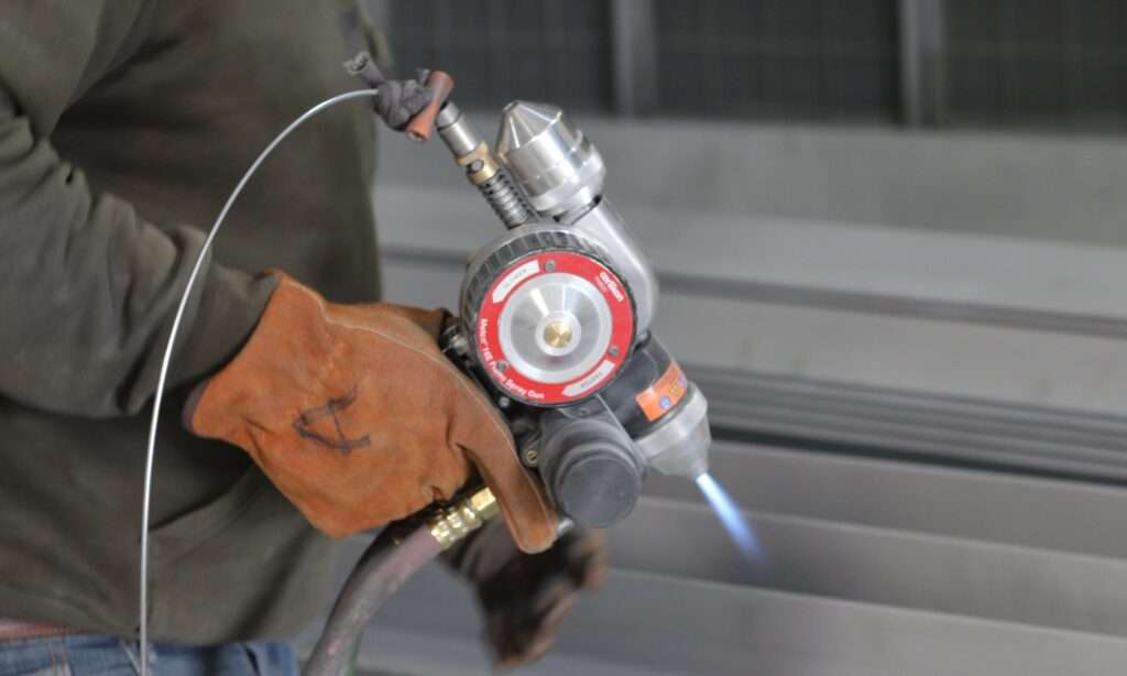 Metalizing Thermal Spray