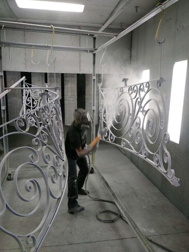 Liquid Painting, Phoenix Metal Finishing